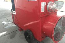 Noleggio generatore aria calda