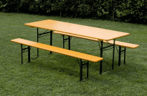 Noleggio tavoli e panche